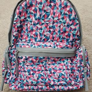 Backpack Pink Turquoise No Boundaries